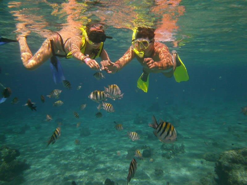 Best romantic experience for couple 2020 in Cancun - Snorkeling