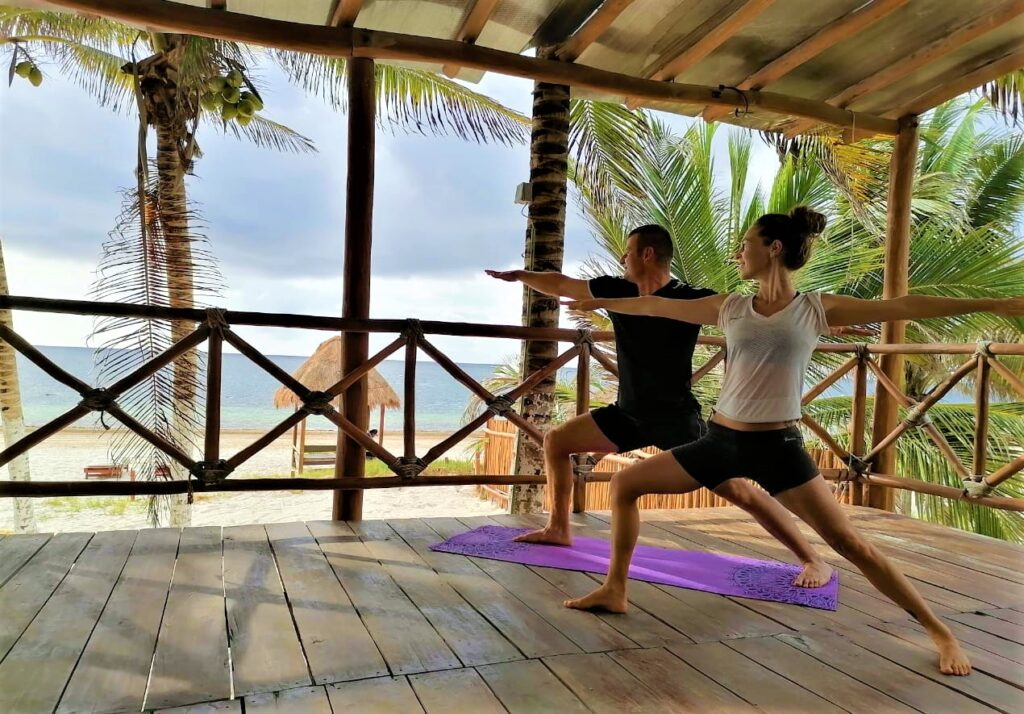 Best romantic experience for couple 2020 in Cancun - Morning yoga