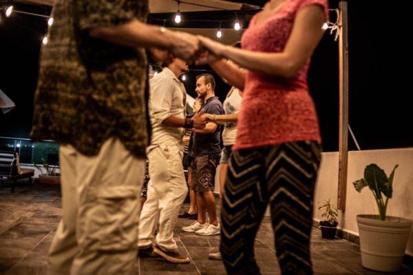 Bacahata and salsa dancing Playa del Carmen