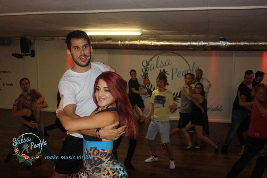 How do I dance bachata Learn the basic steps on