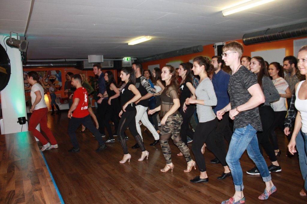 Kizomba dancing living through the movements