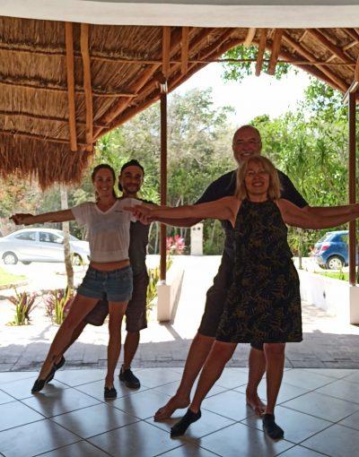 Clases de Salsa y bachata Puerto Morelos